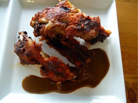 Gluten Free BBQ Ribs with Golden BBQ Sauce