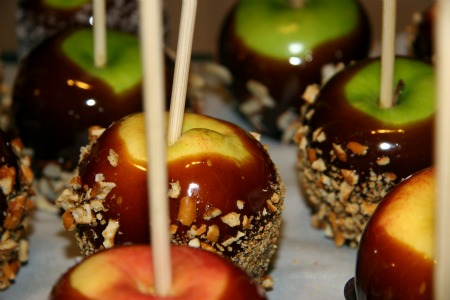 gluten free caramel apples