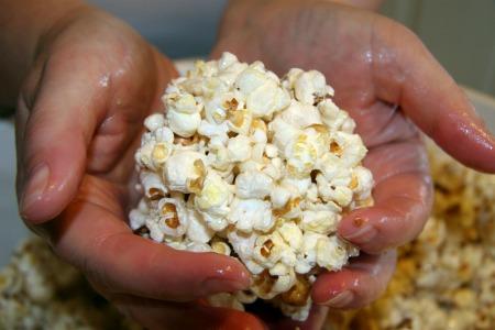 gluten free popcorn balls
