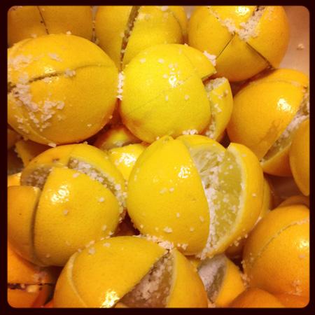 Gluten Free Preserved Meyer Lemons