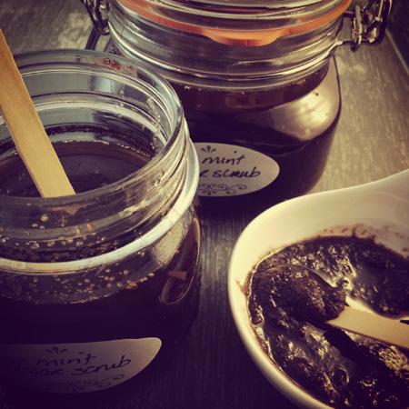 Mint Chocolate Sugar Scrub