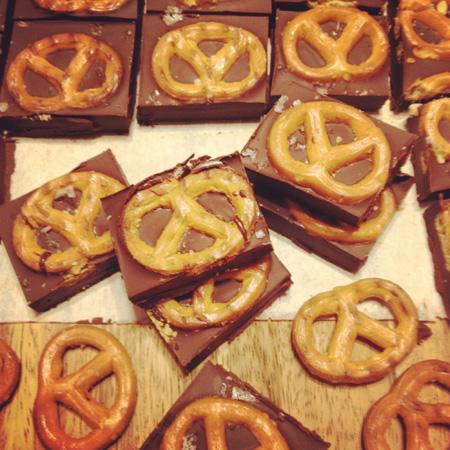 Gluten Free Chocolate Pretzel
