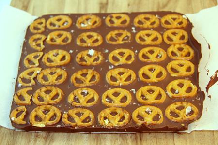 Gluten Free Chocolate Pretzel Bark