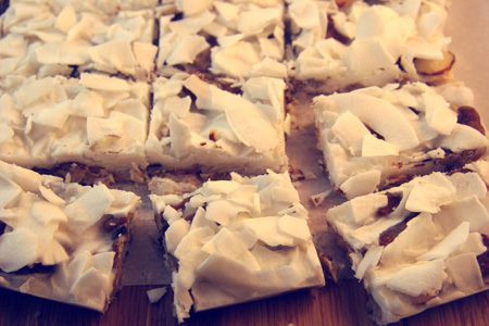 Gluten & Sugar Free Coconut Pecan Bark