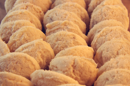 Gluten Free Whipped Short Bread Cookies