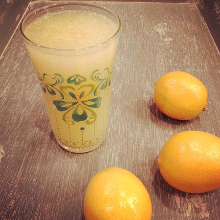 Gluten Free Meyer Lemon Lemonade Syrup