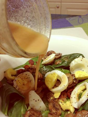 Gluten Free Spinach Salad