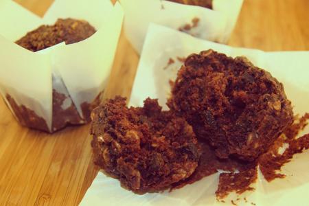 Gluten Free Quinoa Dark Chocolate Muffins