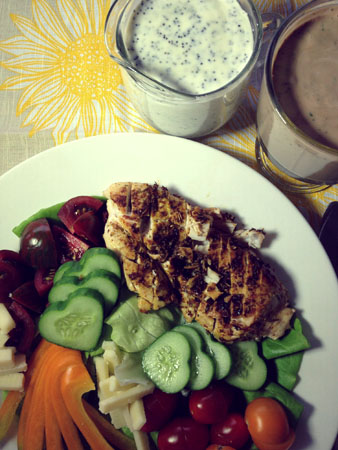Gluten Free Creamy Dressings: Poppyseed & Balsamic Herb