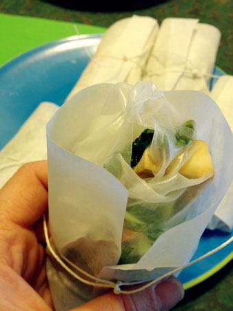 Gluten Free Salad Rolls
