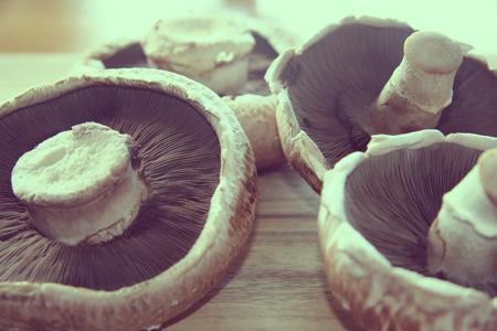 Portobellow Mushroom Pizzas