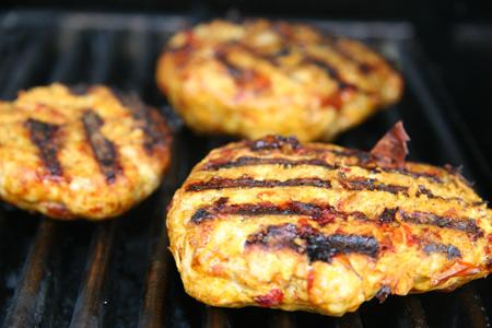 Butter Chicken Burgers