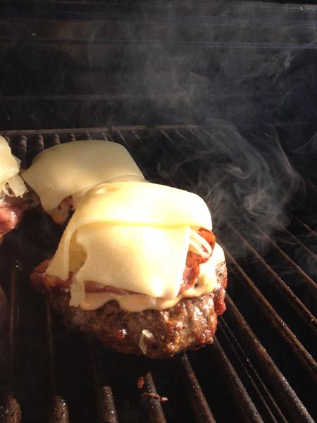 gluten-free reuben burger