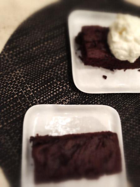 Recipe Gluten Free Dark Chocolate Sheet Cake