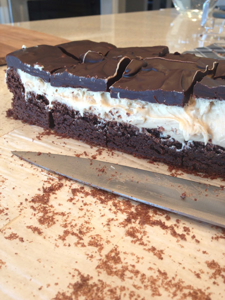 Gluten-Free 3 Layer Brownie Recipe