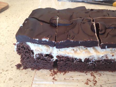 gluten free 3 layer brownie recipe