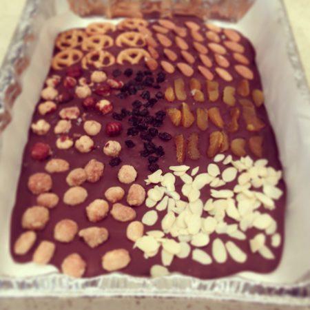 gluten free chocolate bark