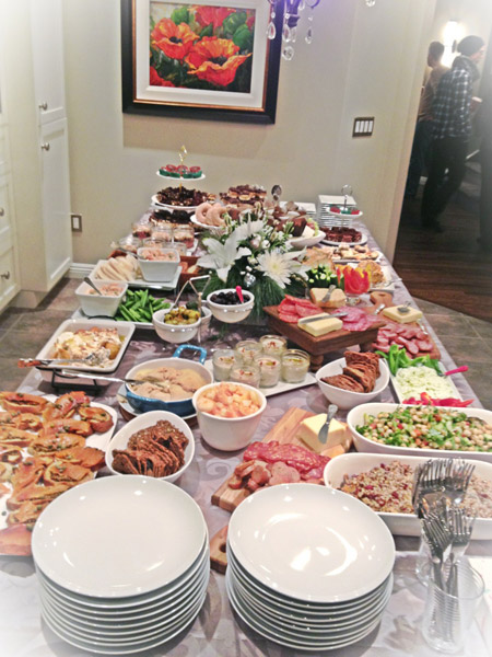 gluten free christmas party