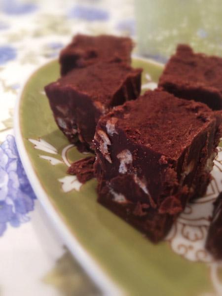 Gluten-Free Dark Chocolate Fudge Recipe