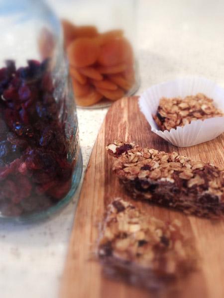 Gluten Free Apricot Granola Bars Recipe