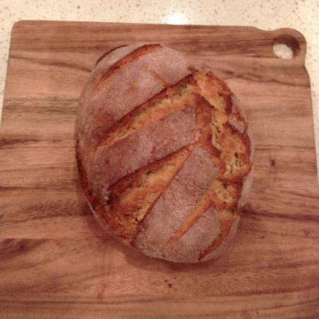 gluten-free vegan bread dough