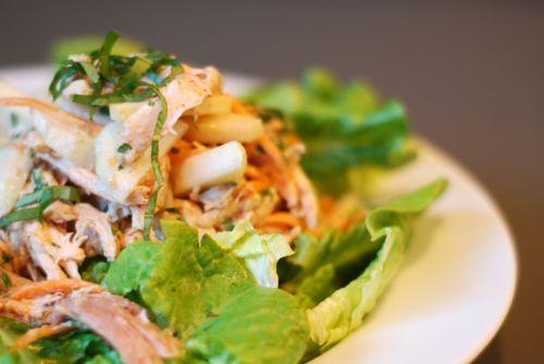gluten free paleo Asian Almond Chicken Salad
