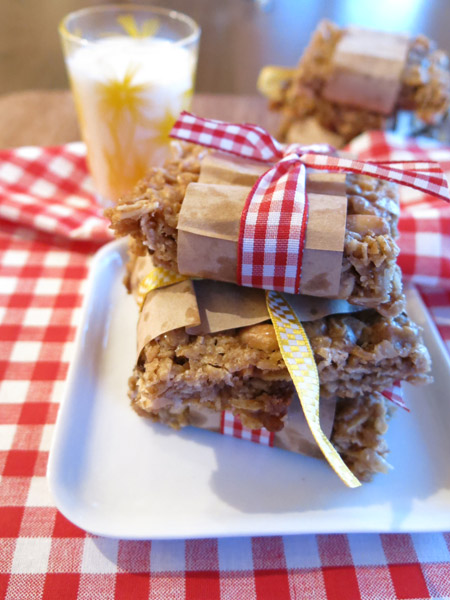 gluten free toffee bars