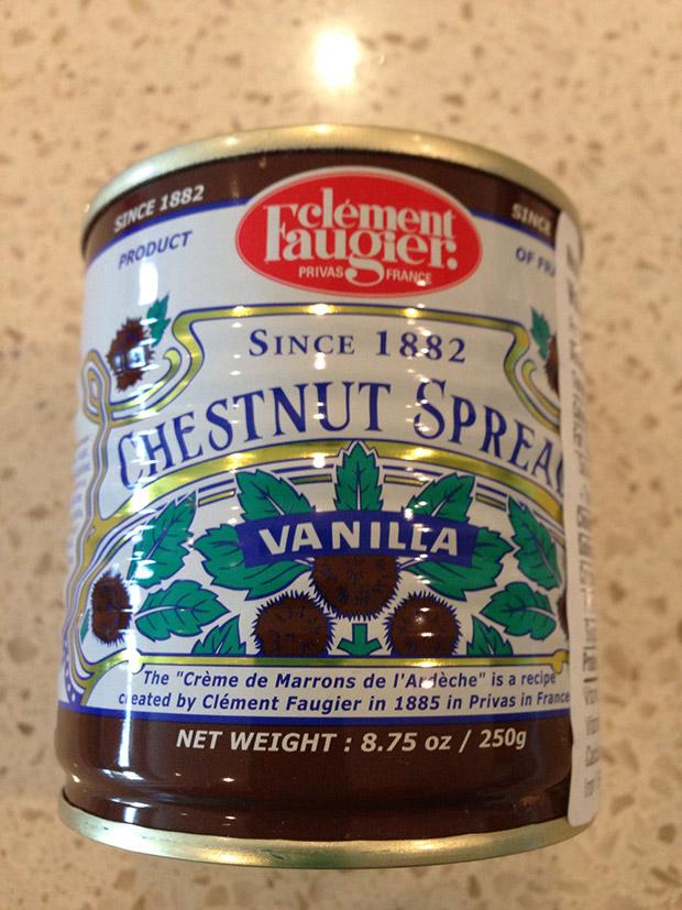 chestnut spread vanilla