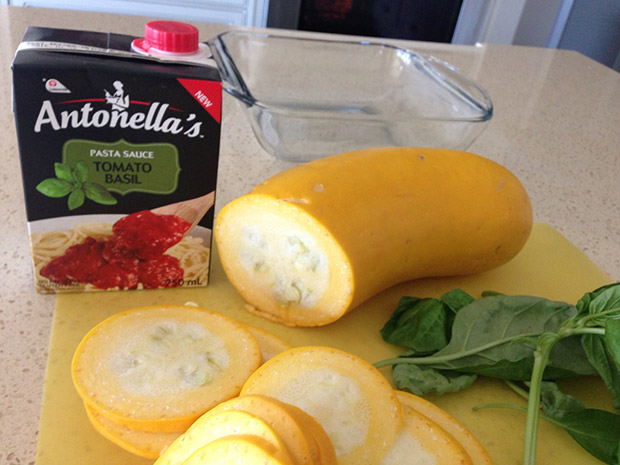 gluten free vegetarian zucchini lasagna