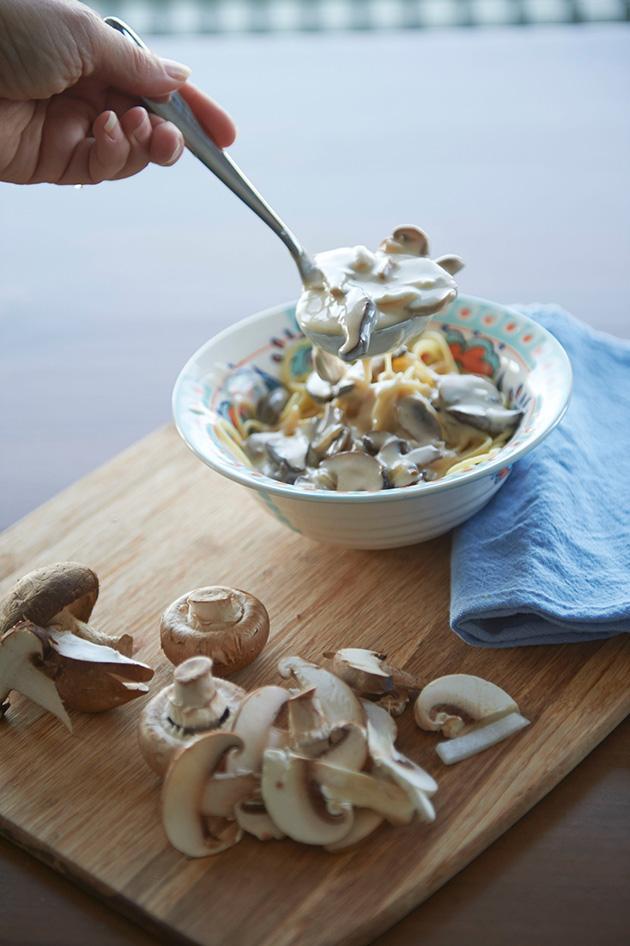 gluten free catelli three mushroom pasta recipe