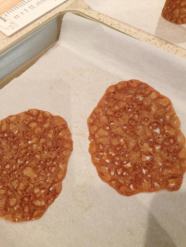 gluten free lace cookies recipe