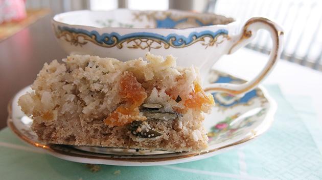 gluten free apricot coconut bars recipe