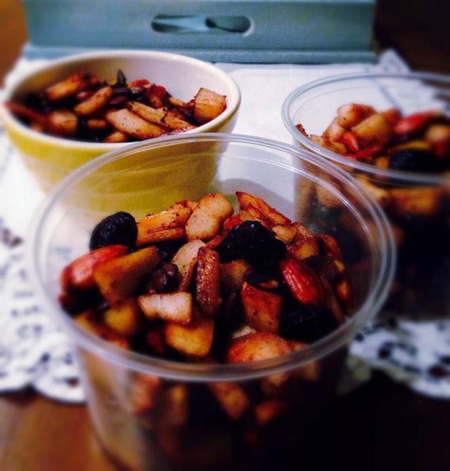 gluten free coconut cherry crunch recipe