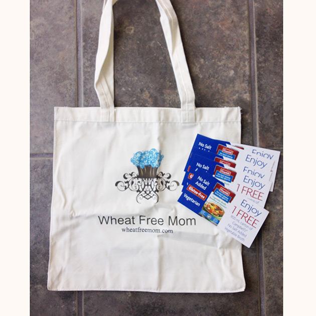 wheat free mom tote bag