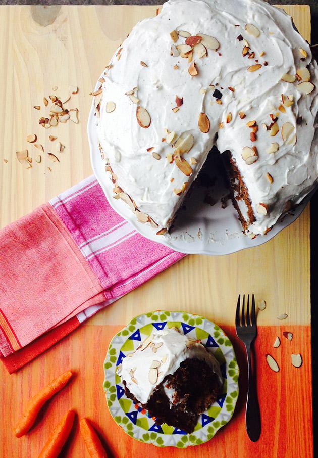 gluten free dairy free carrot cake recipe