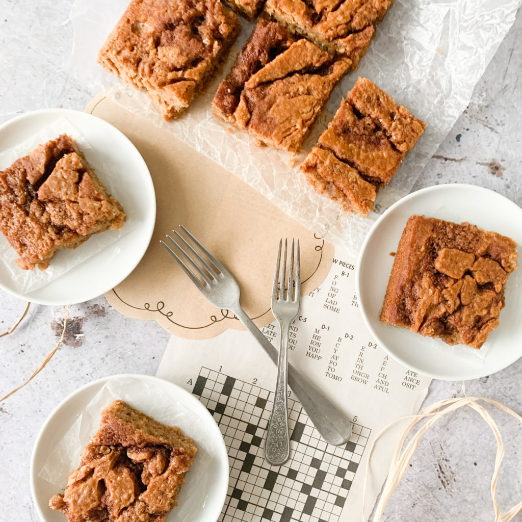 A gluten-free cinnamon swirl coffee cake that is a delicious homemade cake using ingredients you have on hand.