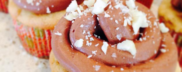gluten free cashew butter cupcakes