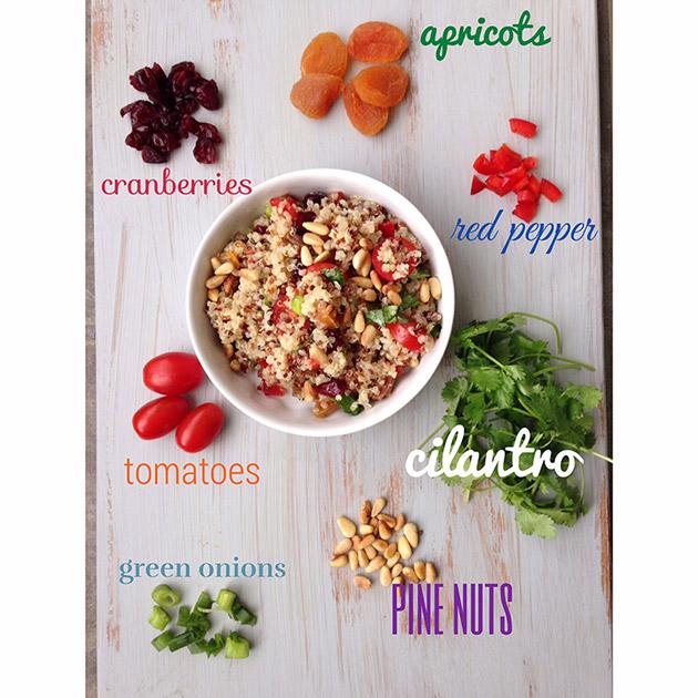 gluten free quinoa fruit salad recipe