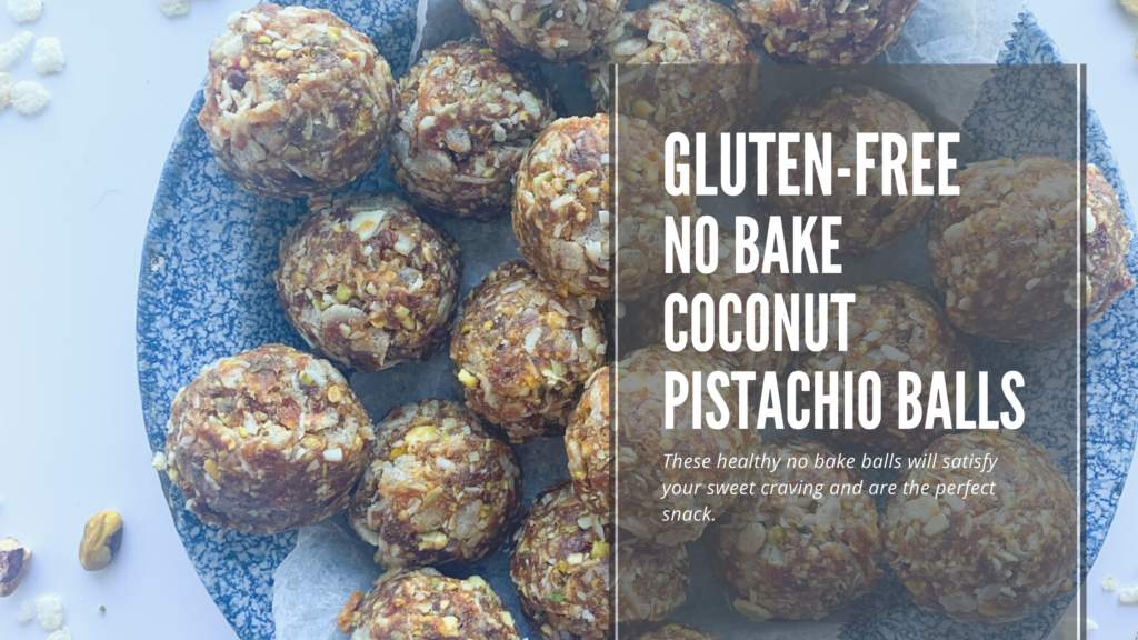 An easy to make gluten-free no bake bliss balls made with simple healthy ingredients.