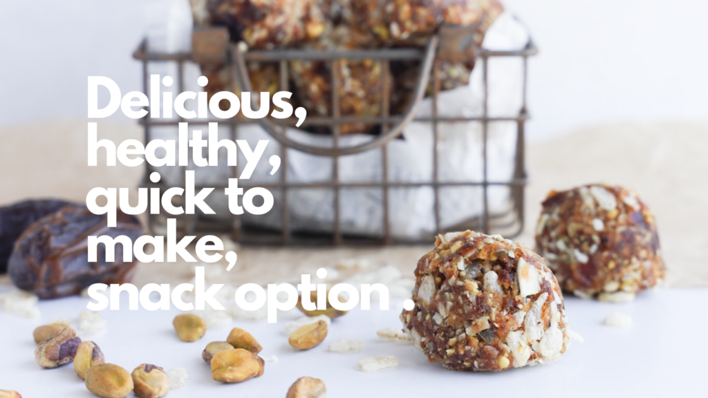 An easy to make gluten-free no bake bliss ball that uses simple ingredients.