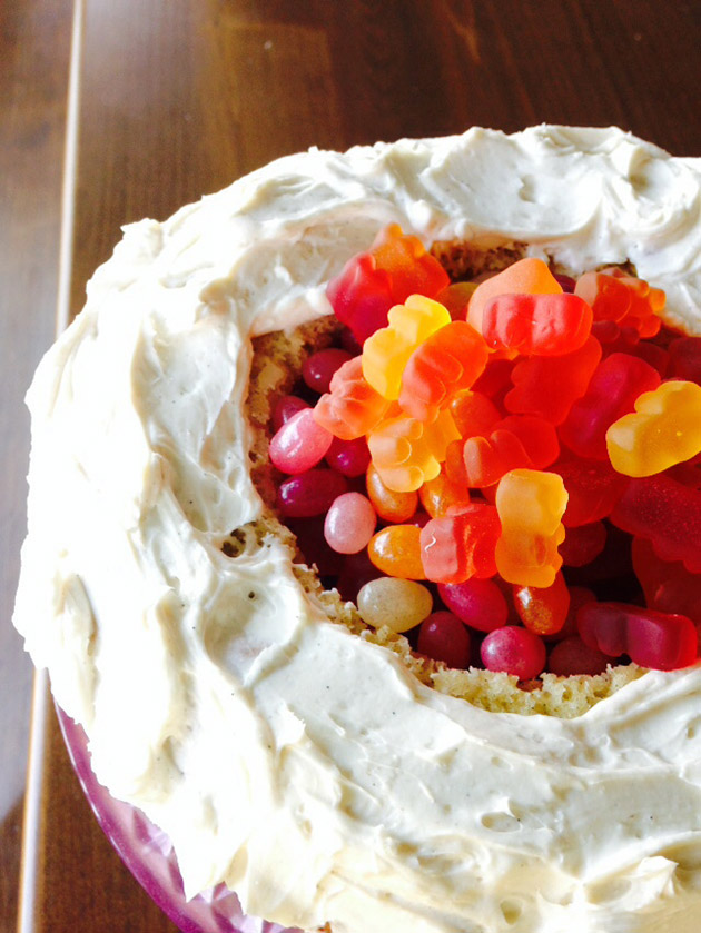 gluten free pinata cake recipe