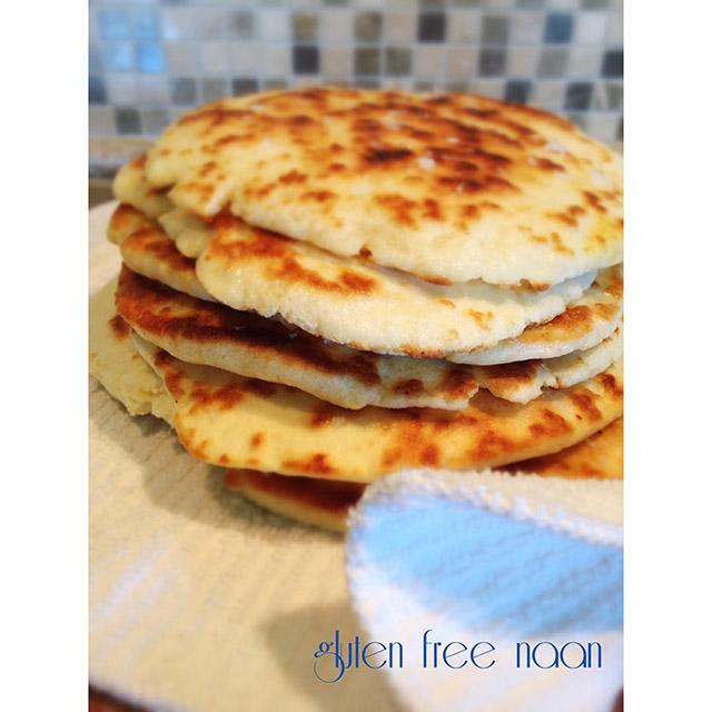 gluten free fried naan