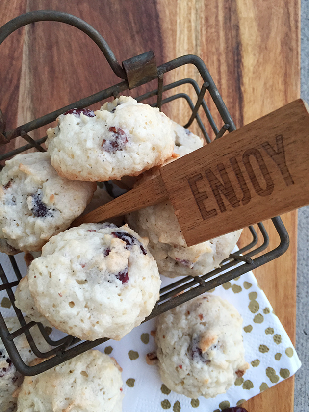 gluten free dairy free coconut cherry macaroons recipe