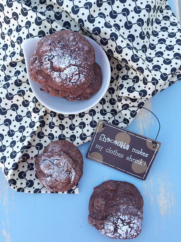 gluten free dairy free fudgy espresso cookie recipe