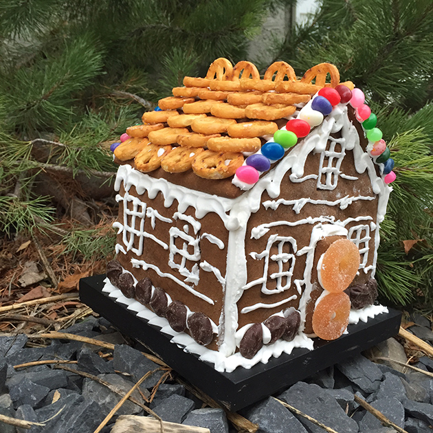 gluten free dairy free gingerbread house
