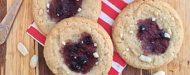 gluten free dairy free peanut butter and jam recipe