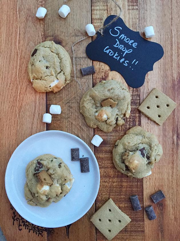 gluten free dairy free smore drop cookie recipe