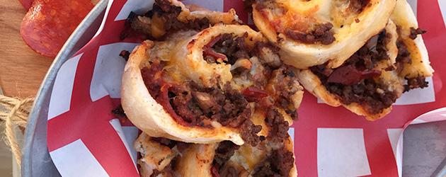 gluten free pizza spirals recipe