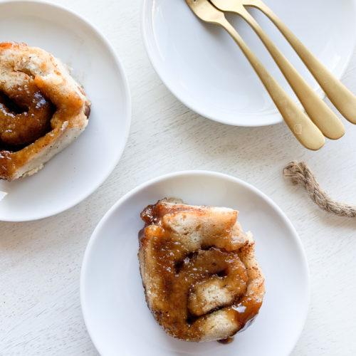 An easy to make gluten and dairy-free cinnamon bun recipe.