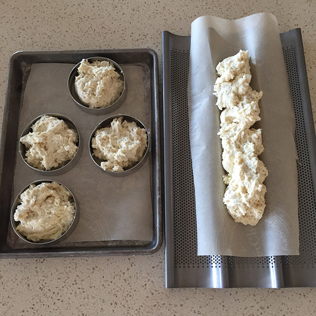 gluten free dairy free baguette and english muffin recipe